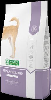 NATURE'S PROTECTION Mini Adult Lamb - NEW! Гипоаллергенный ПОЛНОРАЦИОННЫЙ СБАЛАНСИРОВАННЫЙ КОРМ С MЯСОМ ЯГНЕНКА ДЛЯ ВЗРОСЛЫХ СОБАК МАЛЫХ ПОРОД