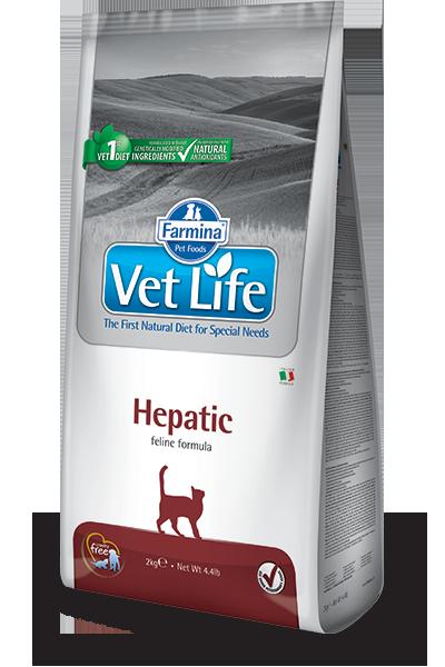 Farmina Vet Life Hepatic Диетическое питание для кошек при хронической печеночной недостаточности