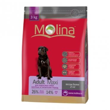 Полнорационный корм для взрослых собак крупных пород MOLINA «Adult Maxi»