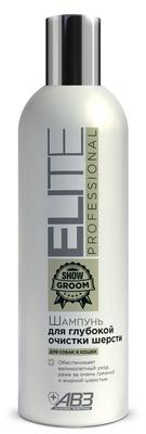 Шампунь Elite Professional для глубокой очистки шерсти для собак и кошек