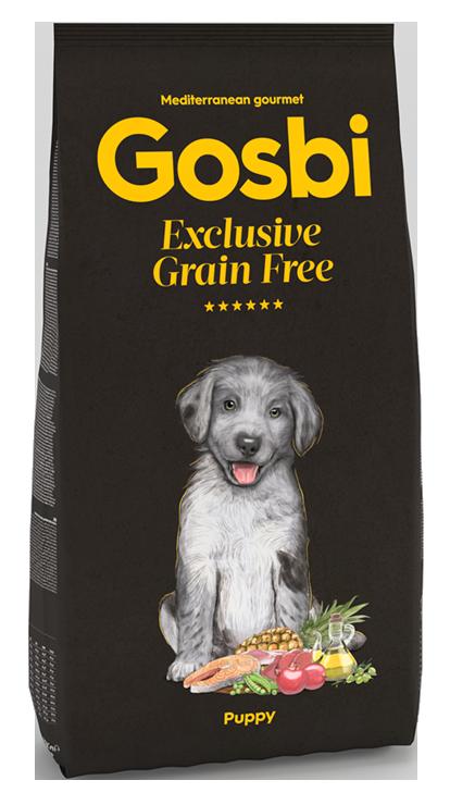 GOSBI GRAIN FREE PUPPY БЕЗЗЕРНОВОЙ корм холистик для щенков всех пород. Ягненок и Лосось / ГИПОАЛЛЕРГЕННЫЙ (Испания)