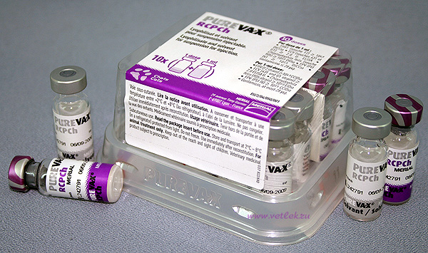 ПУРЕВАКС RCPCH (Purevax RCPCh) вакцина против панлейкопении, инфекционного ринотрахеита, калицивирусной инфекции и хламидиоза кошек
