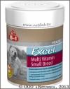 8 в 1 Мультивитамины для собак мелких пород (8 in 1 Excel Multi Vitamin Small Breed), банка 70 таб.