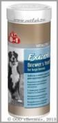 8 в 1 Бреверс Витамины с пивными дрожжами для крупных собак (8 in 1 Excel Brewers Yeast), банка 80 таб.