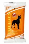 Polidex Влажные салфетки-Для шерсти.15шт/уп. Очищают и освежают шерсть и кожу собак. Гипоаллергенны. Не содержат спирт.