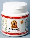 Полидекс Гелабон плюс (Polidex Gelabon Plus), банка 150 таб. Эффективно профилактирует заболевания хрящевых поверхностей, укрепляет связки и суставы, особенно необходим щенкам в период роста