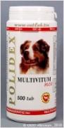 Полидекс Мультивитум плюс (Polidex Multivitum plus), банка 500 таб. (1 таб. на 5 кг.) Поливитаминно-минеральный комплекс