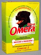 Омега NEO мв лакомство для собак с протеином и L-карнитином, уп. 90 таб.