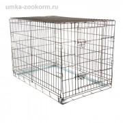 Клетка для собак № 3 - 100 х 60 х 65 см Металл