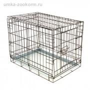 Клетка для собак № 1 - 60 х 40 х 45 см Металл