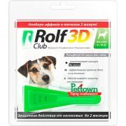 Рольф Клуб 3D, капли д/собак от 4-10кг