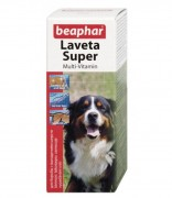 Beaphar Laveta Super 50 мл. Супер Витамины для шерсти собак