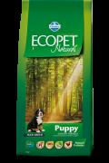 Farmina Ecopet Natural Puppy MAXI Полнорационный, сбалансированный корм Для Щенков Крупных пород, беременных и лактирующих сук.