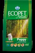 Farmina Ecopet Natural Puppy MINI Полнорационный, сбалансированный корм Для Щенков Мелких и Карликовых пород, беременных и лактирующих сук.