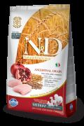Farmina Низкозерновой N&D Low Grain Chicken & Pomegranate Adult Medium Фармина Н&Д Низкозерновой Курица с Гранатом эдалт дог - полнорационный корм для взрослых собак Всех пород