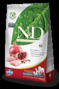 Farmina Беззерновой N&D Chicken & Pomegranate Adult Фармина Курица c гранатом - полнорационный беззерновой корм для взрослых собак всех пород