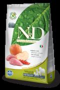 Farmina Беззерновой N&D Boar & Apple Adult  Фармина мясо кабана с яблоком - полнорационный беззерновой корм для взрослых собак всех пород
