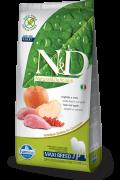Farmina Беззерновой N&D Boar & Apple Adult MAXI Фармина мясо кабана с яблоком - полнорационный беззерновой корм для взрослых собак Крупных пород