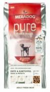 MERADOG РURE FRESH MEAT Ente & Kartoffel gf (со свежей уткой и картофелем) Беззерновой корм (холистик) для привередливых собак, с чувствительным пищеварением и аллергиями.