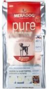 MERADOG PURE FRESH MEAT Huhn & Kartoffel gf (со свежей курицей и картофелем) Беззерновой корм (холистик) для привередливых собак, с чувствительным пищеварением и аллергиями.