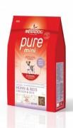 MERADOG PURE MINI Huhn & Reis (Курица и рис) Корм для собак мелких пород (подходит собакам с проблемами в питании и/или аллергиями)