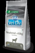 Farmina Vet Life Neutered +10kg полнорационное и сбалансированное питание для взрослых кастрированных или стерилизованных собак весом более 10кг для контроля веса и профилактики развития мочекаменной болезни