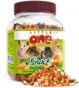 LITTLE ONE Лакомство для всех видов грызунов Овощная смесь 150 г