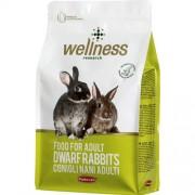 Padovan  Корм WELLNESS FOOD полнорационный для молодых карликовых кроликов (1 кг)