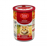 РОДНЫЕ КОРМА Ягненок по-княжески с профилактикой МКБ конс. 410 г для кошек