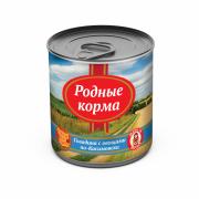 РОДНЫЕ КОРМА Говядина с овощами по-Касимовски конс. 525 г для собак