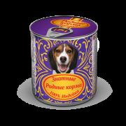 РОДНЫЕ КОРМА Знатные 100 % Индейка для собак 340 г