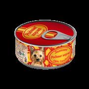 РОДНЫЕ КОРМА Знатные 100 % Говядина для собак 100 г