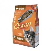 Оскар сухой корм для кошек с мясом ягненка