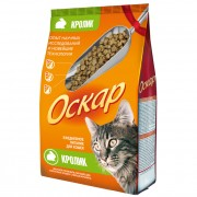 Оскар сухой для кошек с мясом кролика МКБ