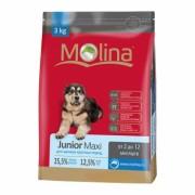 Полнорационный корм для щенков крупных и гигантских пород MOLINA «Junior Maxi»