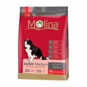 Полнорационный корм для щенков средних пород MOLINA «Junior Medium»
