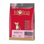 Полнорационный корм для щенков мелких пород MOLINA «Junior Mini»