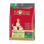 Полнорационный корм для щенков всех пород MOLINA «Puppy All Breed»