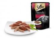 SHEBA® NATURALLETM / Цельные кусочки С говядиной и ягненком Саше 80 г
