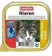 Beaphar Полнорационный диетический корм паштет с куриной грудкой для кошек с почечной недостаточностью 100 г ламистер НИДЕРЛАНДЫ