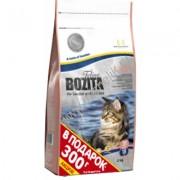 Bozita Feline Funktion™  Large со шведским куриным мясом и скандинавским лососем. Большие гранулы для кошек крупных пород.С чувствительным пищеварением