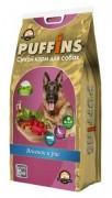 Сухой корм PUFFINS «Ягненок и рис» для собак всех пород