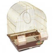 Клетка для птиц, золото, 300*230*390мм
