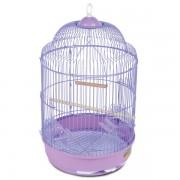 Клетка для птиц круглая, эмаль, d330*565мм