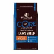 Wellness CORE Large Breed Adult беззерновой сухой корм для собак крупных пород, индейка с курицей