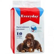 EVERYDAY ПЕЛЕНКИ для собак 60/90 10ШТ ГЕЛЕВЫЕ Приучающие