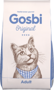 GOSBI ORIGINAL CAT ADALT СУПЕР ПРЕМИУМ Госби для взрослых кошек Курица с Лососем.