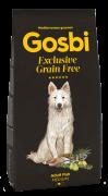 GOSBI GRAIN FREE ADULT FISH MEDIUM БЕЗЗЕРНОВОЙ корм холистик с рыбой для взрослых собак всех пород / Средиземноморская диета / ГИПОАЛЛЕРГЕННЫЙ (Испания)