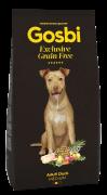 GOSBI GRAIN FREE ADULT DUCK MEDIUM БЕЗЗЕРНОВОЙ корм холистик с Уткой для взрослых собак всех пород  / ГИПОАЛЛЕРГЕННЫЙ (Испания)