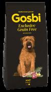 GOSBI GRAIN FREE ADULT MAXI БЕЗЗЕРНОВОЙ корм холистик для взрослых собак крупных пород. Лосось и Ягненок. ГИПОАЛЛЕРГЕННЫЙ (Испания)